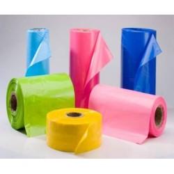 Bolsas y rollos en polietileno - con y sin presion todos los tamaños y colores.