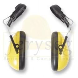 Protector auditivo tipo copa/Casco 23dB