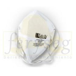 Mascarilla Desechable Color Blanco