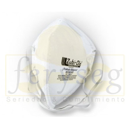 Mascarilla Desechable Color Blanco