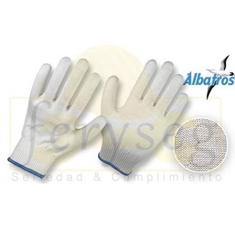 Guantes Hilaza de Algodón y Nylon