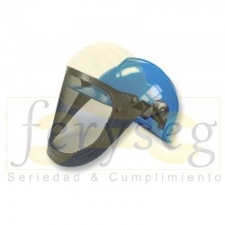 Casco Con Proteccion Facial