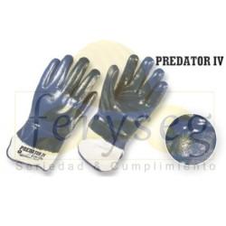 "Guantes Nitrilo Completo Dip Liso ""Predator IV"""
