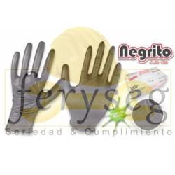 """Guantes de Nitrilo - MULTIUSOS - """"Negrito"""""""