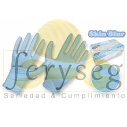 """Guantes Nitrilo Azul para Análisis y Usos Industriales - """"Skin Blur"""""""