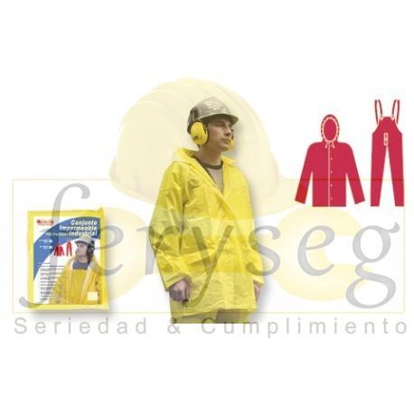 Conjunto Poliéster / PVC Color Amarillo