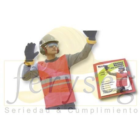Chaleco Alta Visibilidad para Construcción Comercial