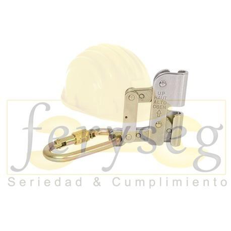 Deslizador y mosqueton para cable acero 10mm (DECA-ET) STEELPRO