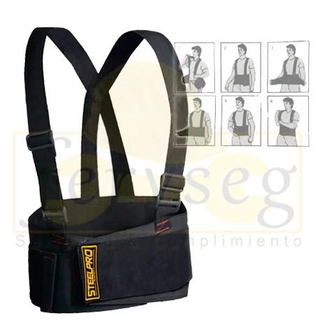 Cinturón ergonómico STEELPRO.