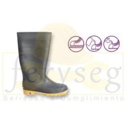 """Botas en PVC - Caña Alta 16"""" ,"""