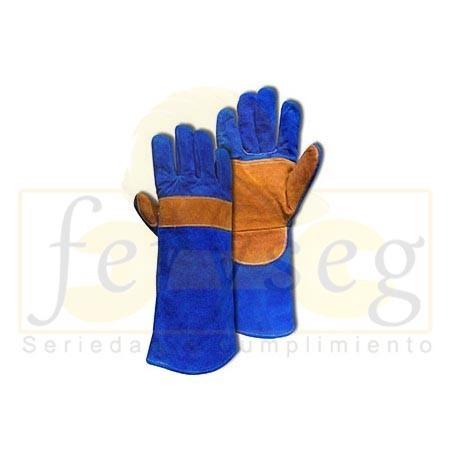 Guante soldador azul STEELPRO