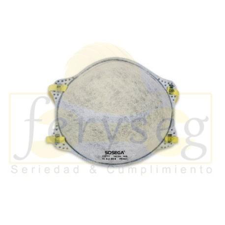 Mascarilla SOSEGA N95 Vapores Orgánicos sin Válvula.