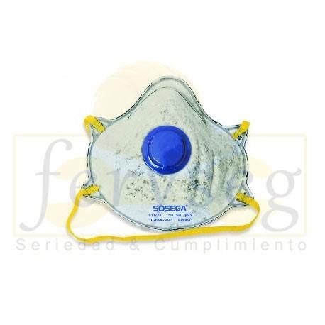 Mascarilla SOSEGA P95 Gases y Vapores