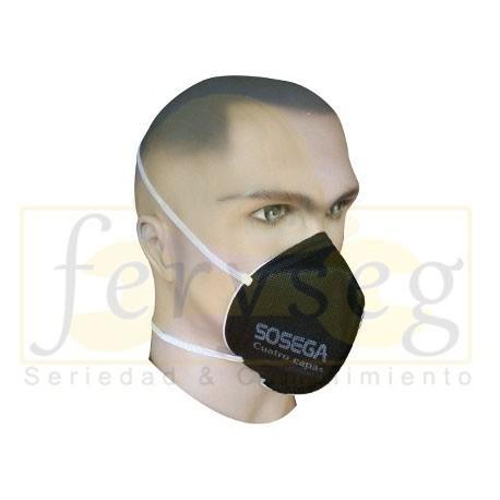 Mascarilla SOSEGA 4 Capas Negra