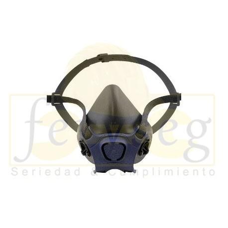 Respirador Moldex Serie 7000 media cara.