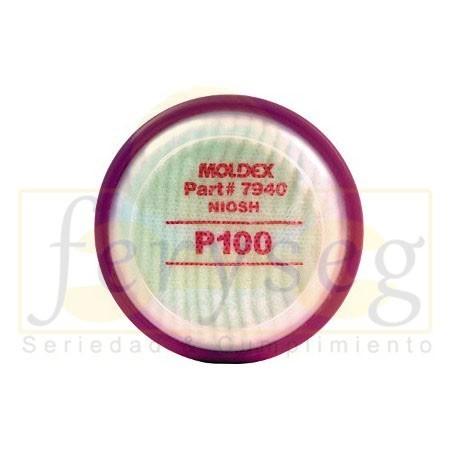 Cartucho 7990 P100 Moldex Material Particulado.