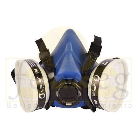 Respirador media cara Libus Serie 9000