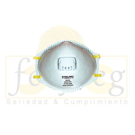 Mascarilla N95 F720V STEELPRO