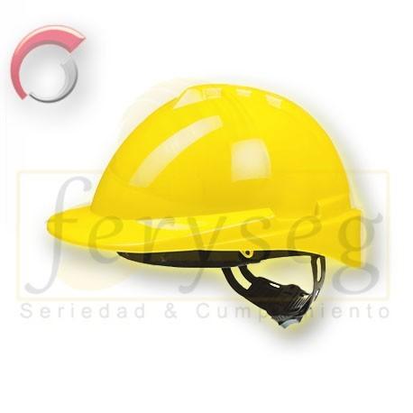 Casco Dieléctrico WELD amarillo.