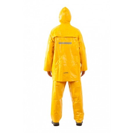Traje Amarillo con piernera STEELPRO.