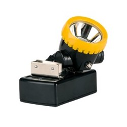 Lámpara minera led inalámbrica con cargador incluido STEELPRO