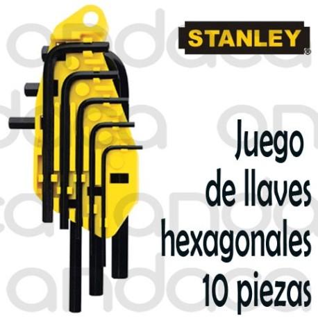 Juego de llaves hexagonal STANLEY